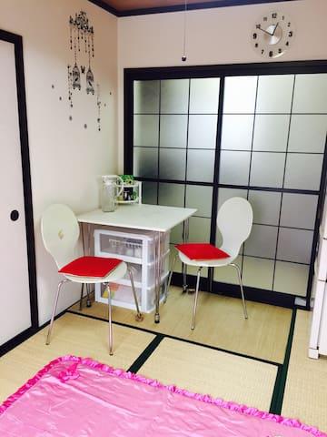 Nice and clean 2 small-room - Matsumoto - Lägenhet