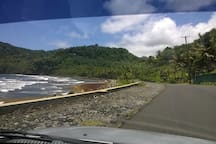 On the way to Marigot, North Eastern road ?1 km away.