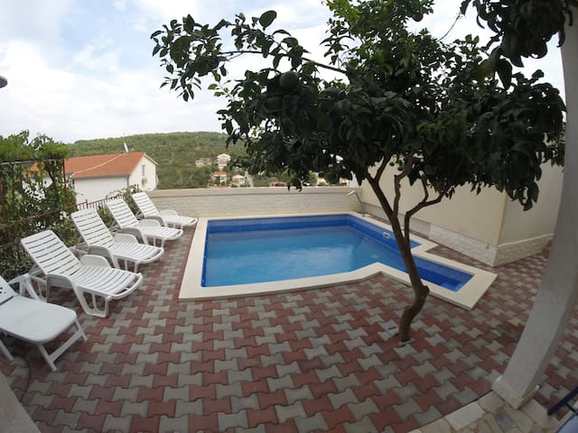 Lucija - 1 Bedroom Apt with Sea View,Balcony,Pool