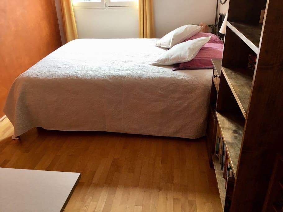 Votre lit.
