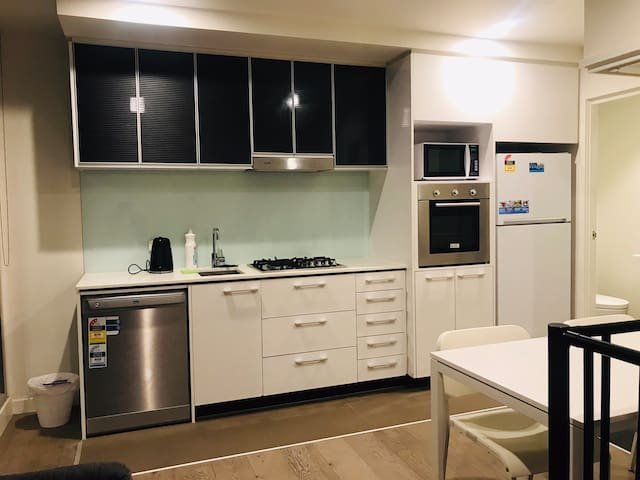 Modern two bedroom loft at Southern Cross Station
