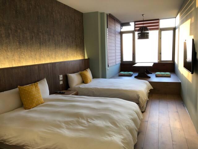 HappyLand B&B2 - Quadruple Room with Sea View