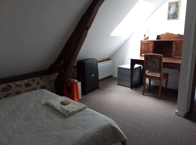 Chambre indépendante entre Bretagne et Normandie