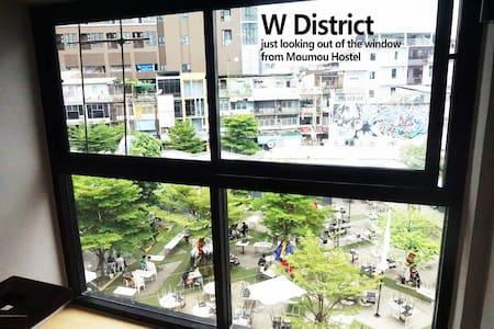 Moumou Hostel,BTS Phrakanong/Ekkamai,Airportlink - กรุงเทพ