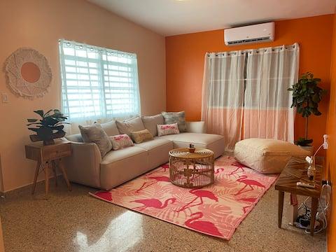 Sunny Relaxing  Flamingo house !
