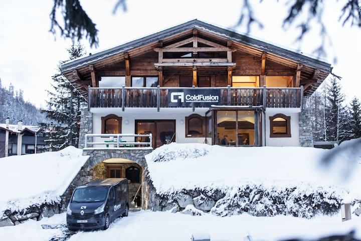 Luxury Double / Twin Bedroom- Argentiere, Chamonix
