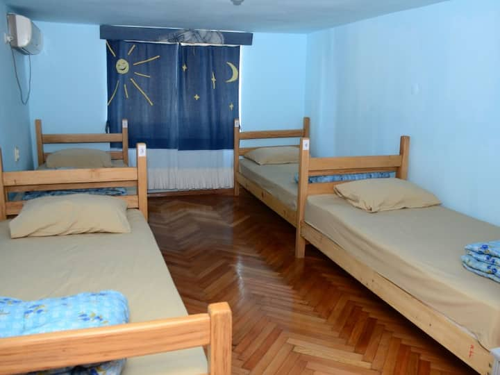 female dorm room.  Globus Guesthouse and Hostel Batumi
