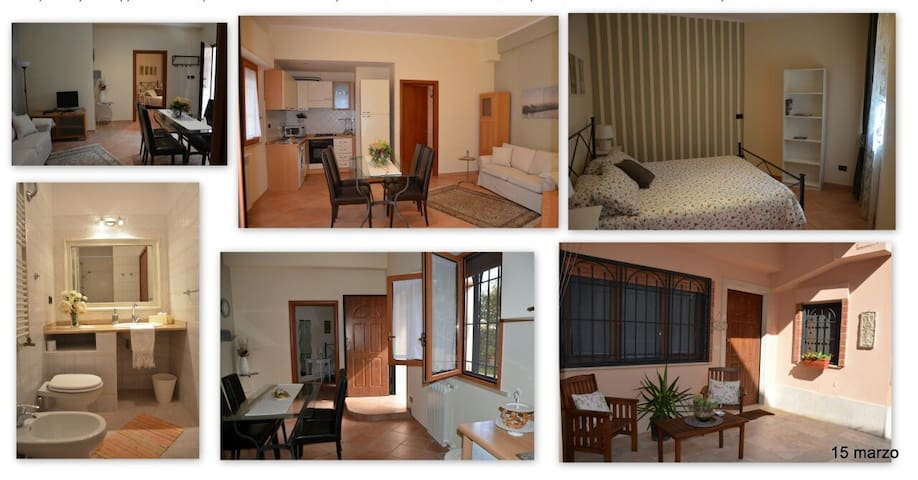 Cosy Apartment 15 minutes from Rome Downtown - Ciampino - Pis