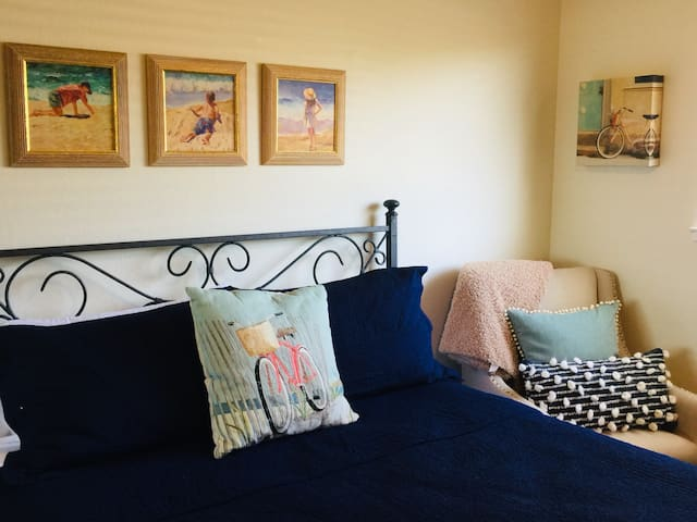 Upgraded Linens with the option of Down Comforters