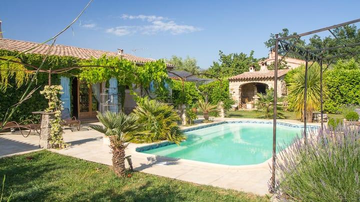 Villa piscine privée p. Cannes, Grasse, St-Raphaël