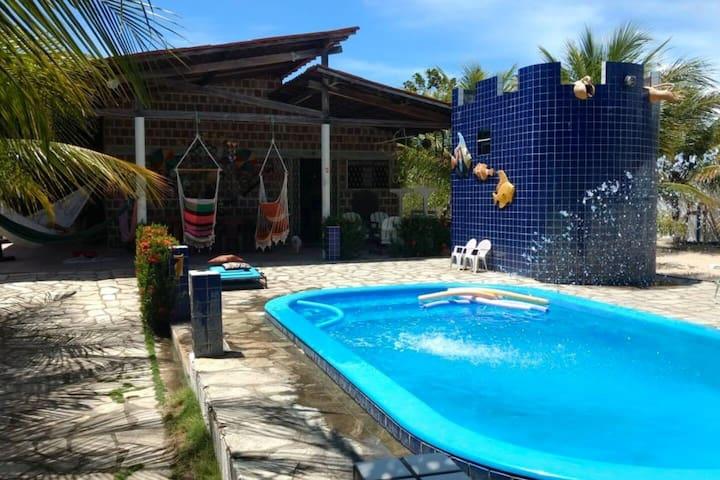 Casa de praia em Lucena