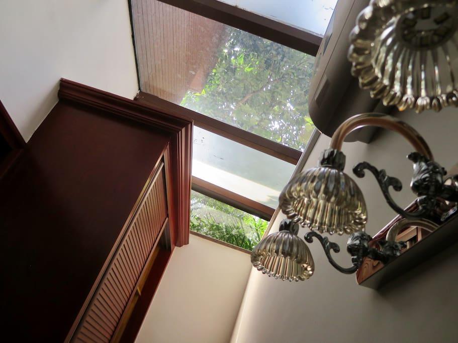 露天玻璃卧室