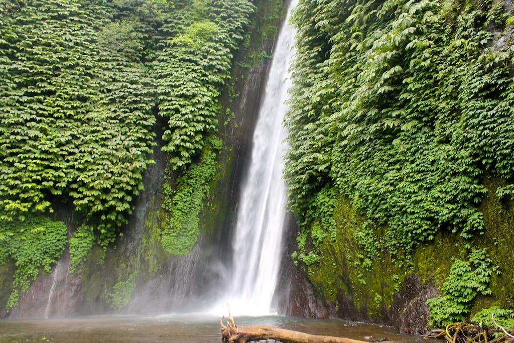 Munduk Waterfall 45 minutes drive