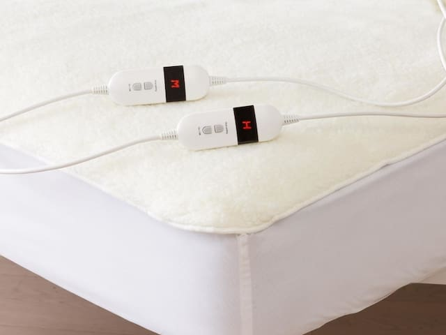 Nothing is better than an electric under-blanket for Sydney's chilly nights!