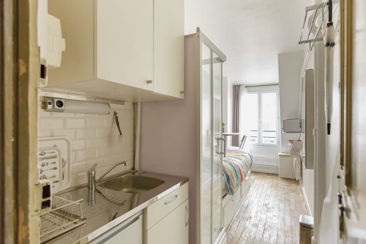 Charming studio close to Gare de Lyon-Port Arsenal - París - Apartamento