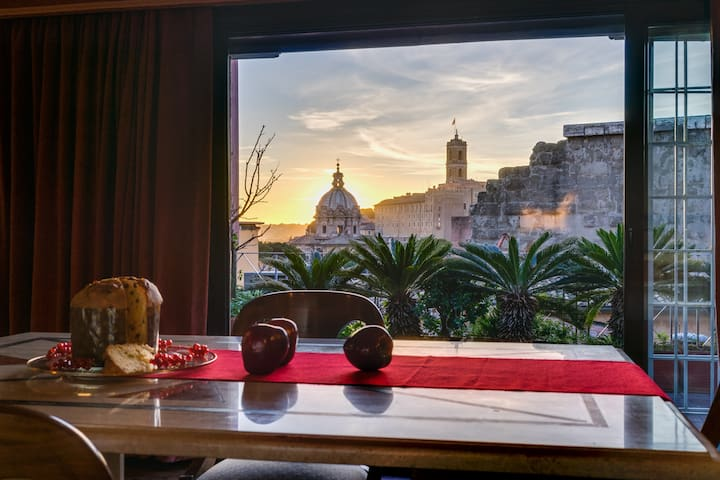 Luxury 3bed flat at Roman Forum w/ Roof Terrace