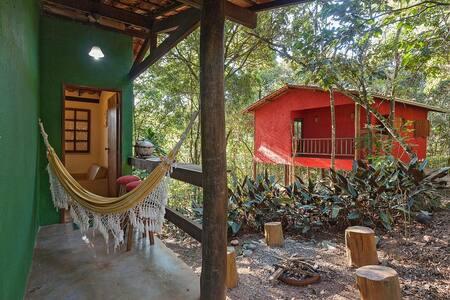 Chalé do Beto em Macacos - Chalé de 2 quartos