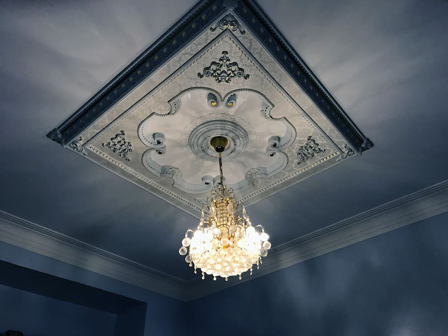 Look up! A Chandelier!