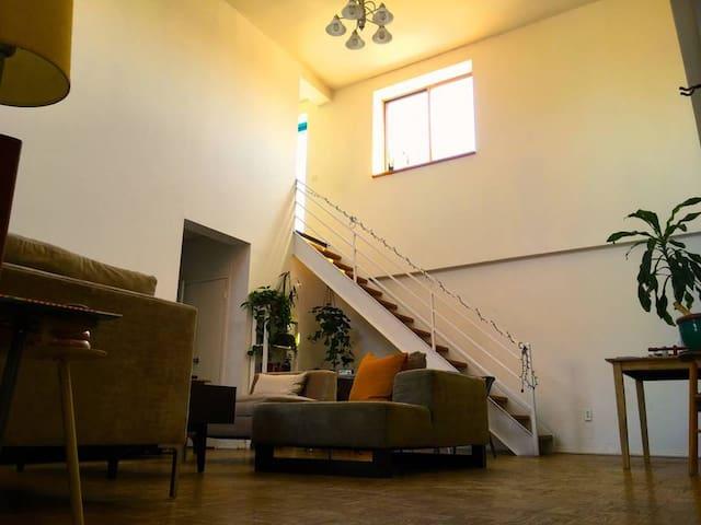 Cozy Guest Quarters in East Village Penthouse!