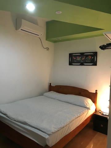 Bedroom no. 02 Queen bed with comfortable matress, first floor