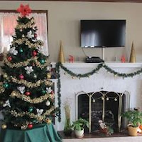 Christmas at Baldwin House