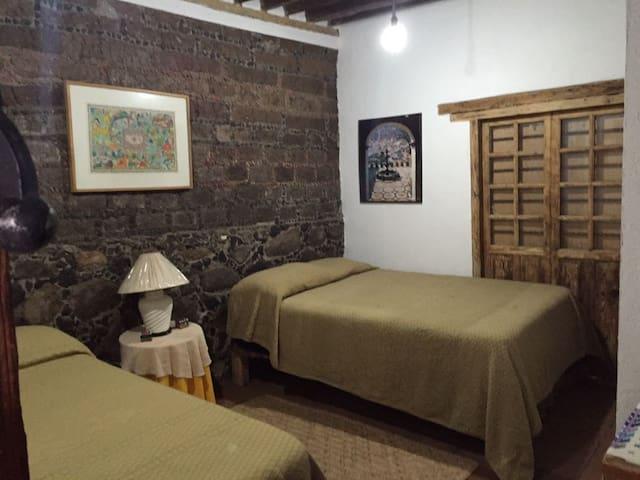 Cómoda y acogedora habitación a 30 min. de Toluca