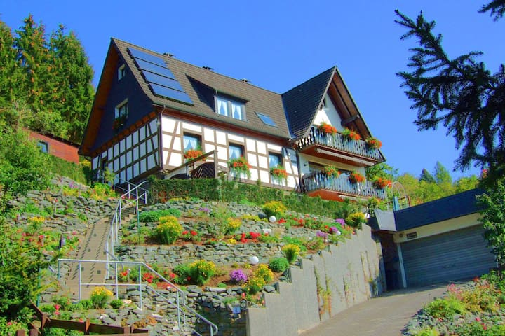 Cozy Apartment in Hallenberg with Terrace