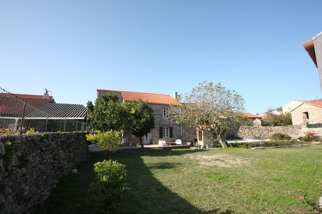 Vivienda tur stica casas de campo en alquiler en carnota - Casas de campo en galicia ...