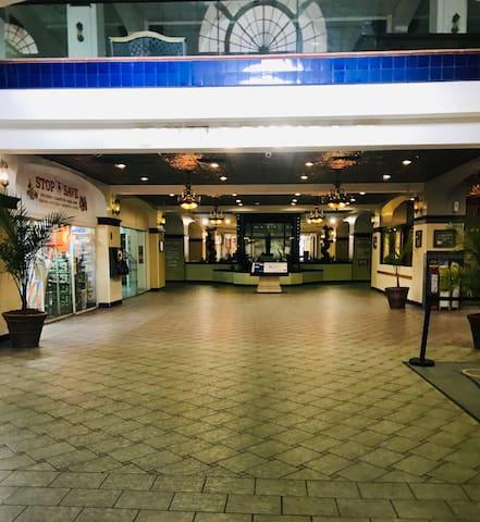 Historic Hollywood Beach Resort Lobby Entrance