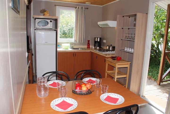 CHALET CLIMATISE 32 (6 PERSONNES)