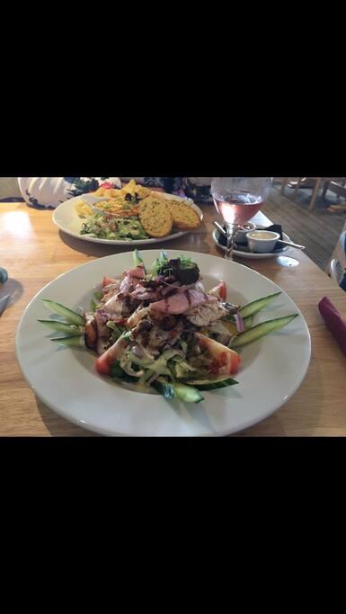 Food in bar/ restaurant