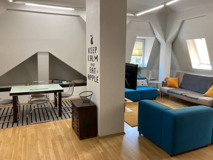 LOFT MODERN DESIGN IN CRACOW