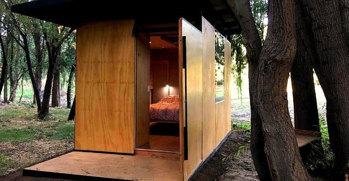 Cabin Intimista en JANUS Granja Biodinámica