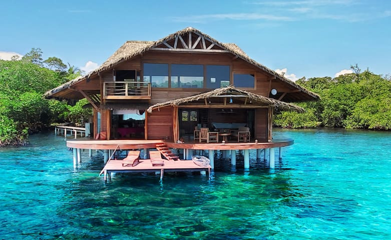Private Luxurious 2 Level Overwater Bungalow Lodge