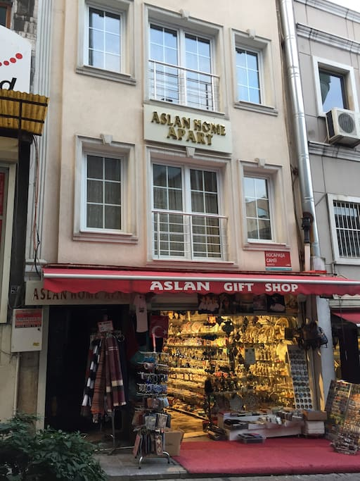 Aslan home aparta ait gift shop