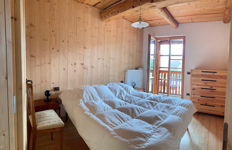 Camera letto matrimoniale 160cm con terrazza