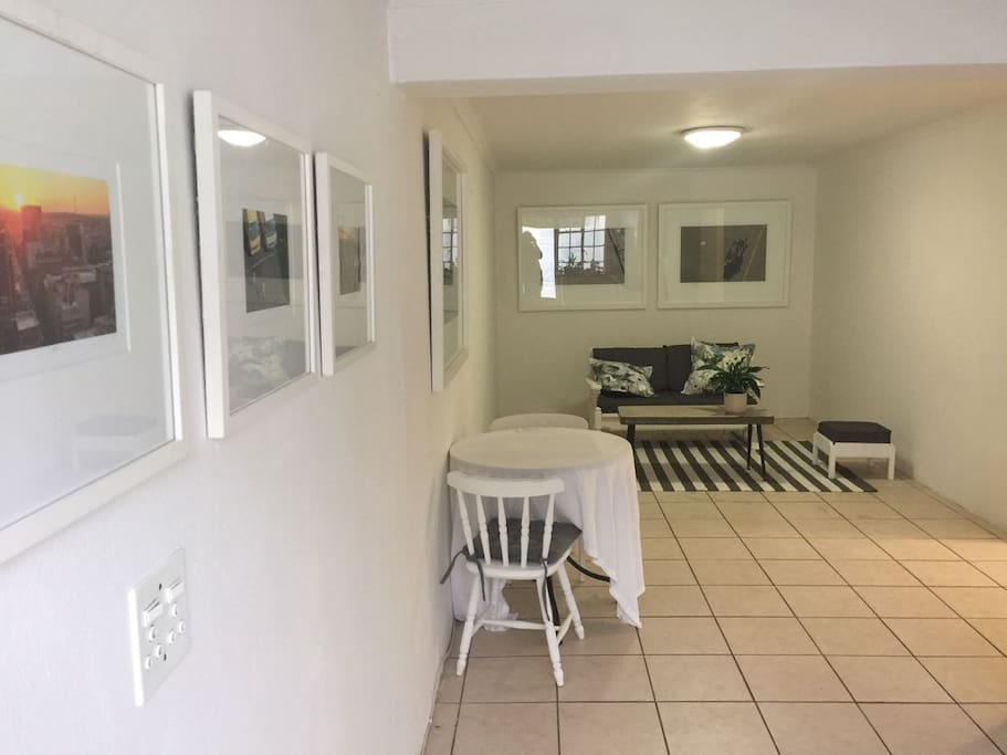 View from doorway into open plan kitchen-diner-lounge