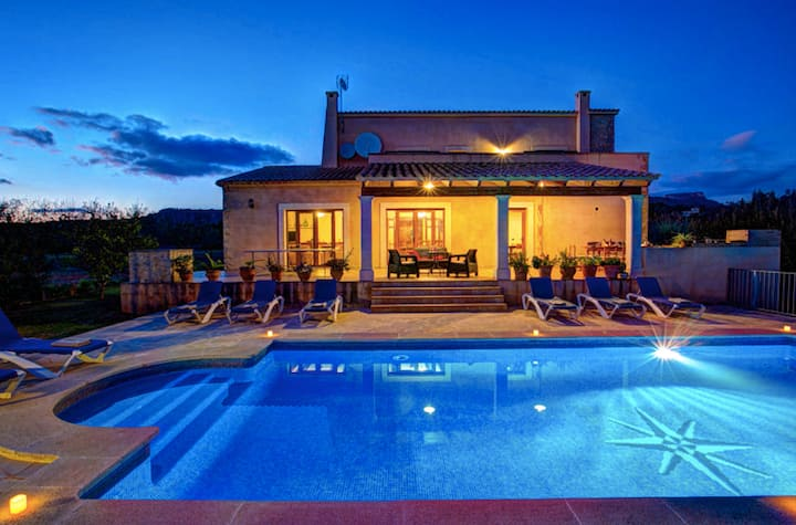Villa Rito Nou, Private Pool, BBC, 10minTOtheBeach