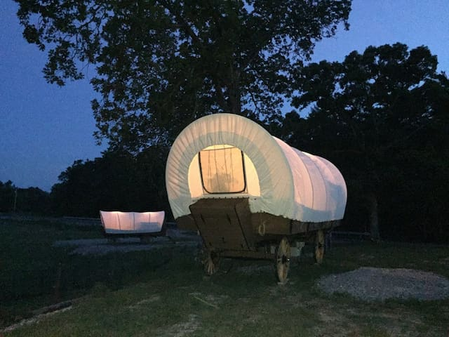 Catawba Trail Covered Wagon