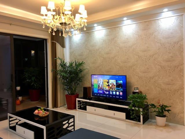 地铁口边上的梅溪湖畔高层景观私人住宅小区(次卧) - Changsha - Pis