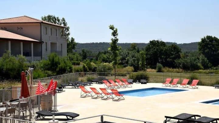 La soleil d'Eugénie logement privé avec piscine
