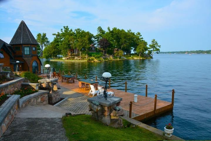 St. Elmo Island in the Beautiful 1000 Islands