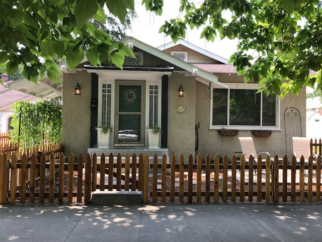 Charming Craftsman Bungalow in Historic District