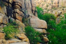 Surrounded by a labyrinth of canyons the Granite Dells is one of the most beautiful places on earth