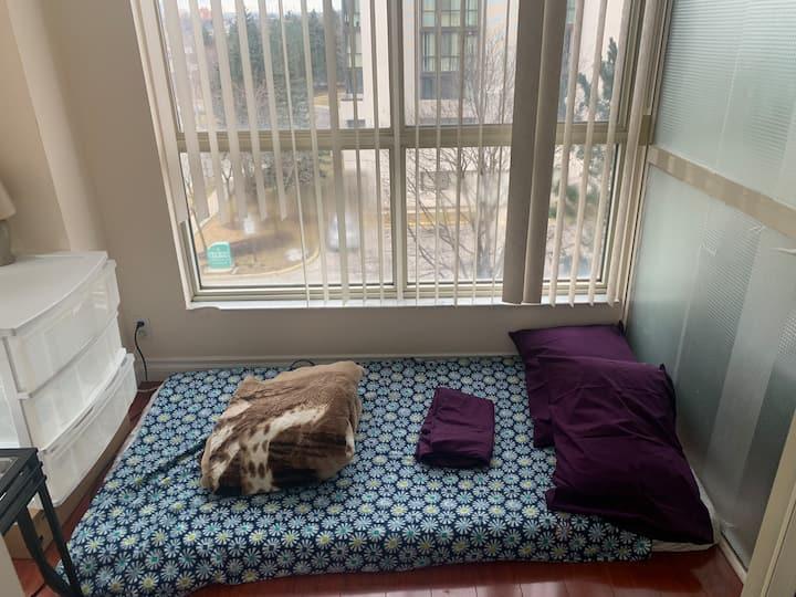 1 small room in condo