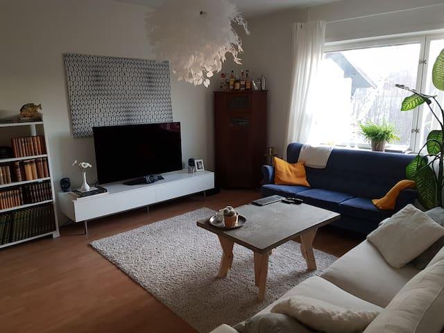 Cozy apartment by the city metro