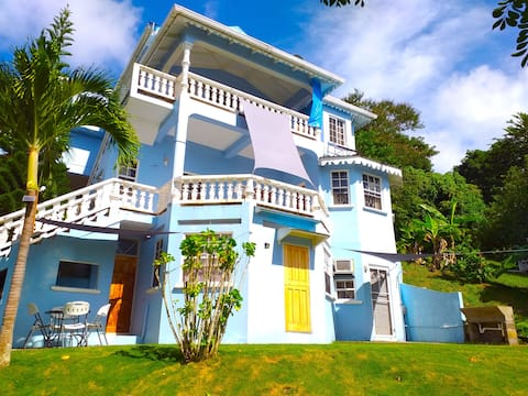 GreenzCove-Cozy, vacay haven, near city w/ seaview