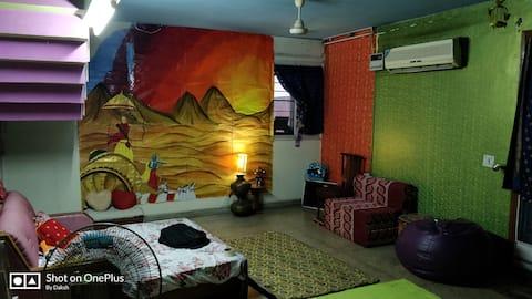Deeksha's Residency. Entry from Gate no. 2
