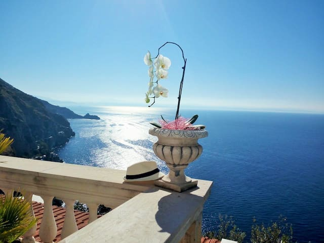 Villa Poesia, one of the breathtaking views