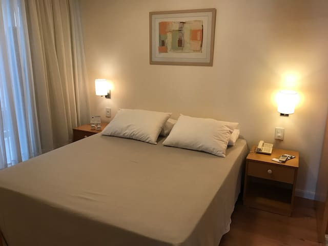 Ótimo flat perto do Parque Ibirapuera!
